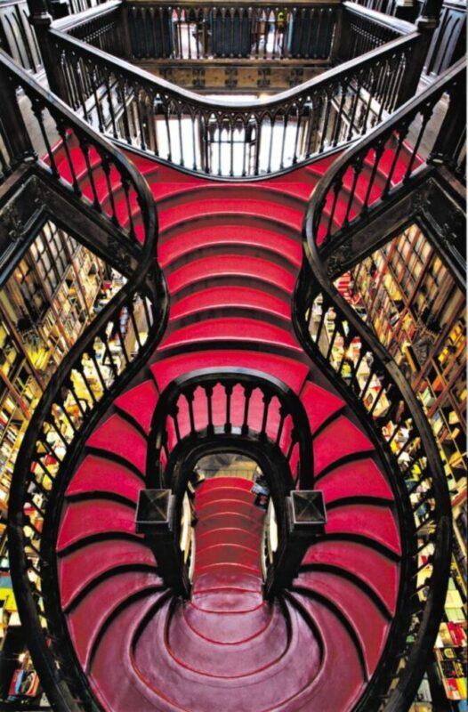 La librairie Lello : l'une des plus belles librairies du monde